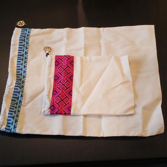 Tory Burch set of 2 dust bags small & medium